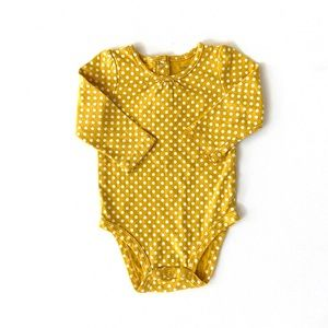 Carters Baby Girl Dot Onesie